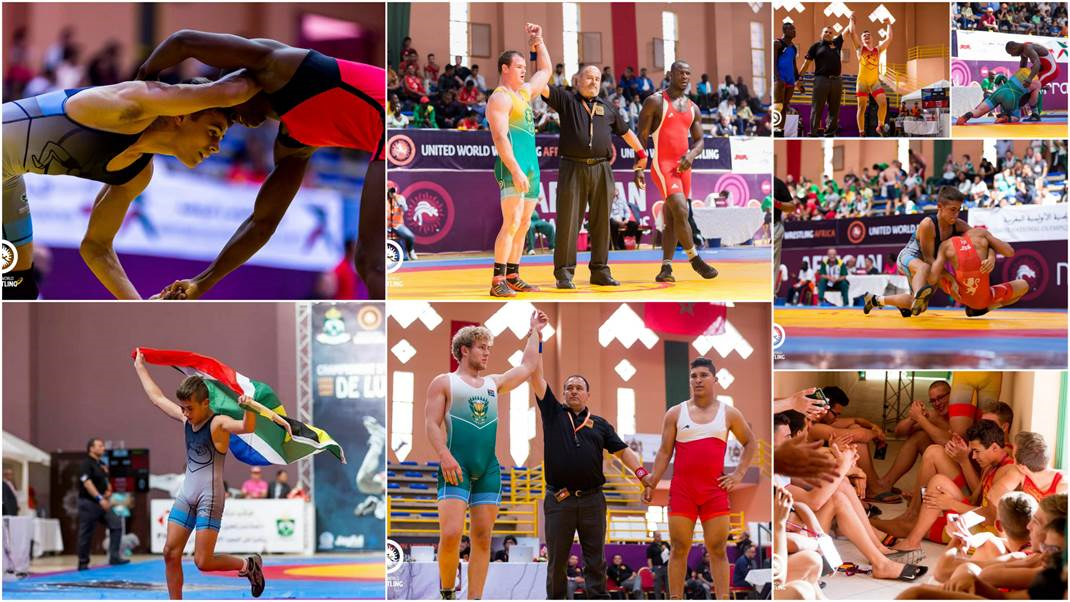 Read more about the article Wrestlers Excel at Continental Championships in Marrakesh