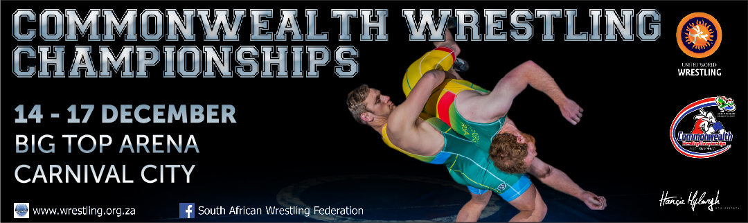 Read more about the article Commonwealth Wrestling Championships coming to Carnival City!